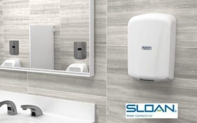 Sloan hand dryers