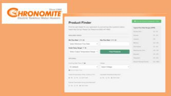Chronomite Product Finder