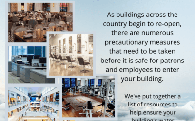 Resources to help you get your building ready to re-open