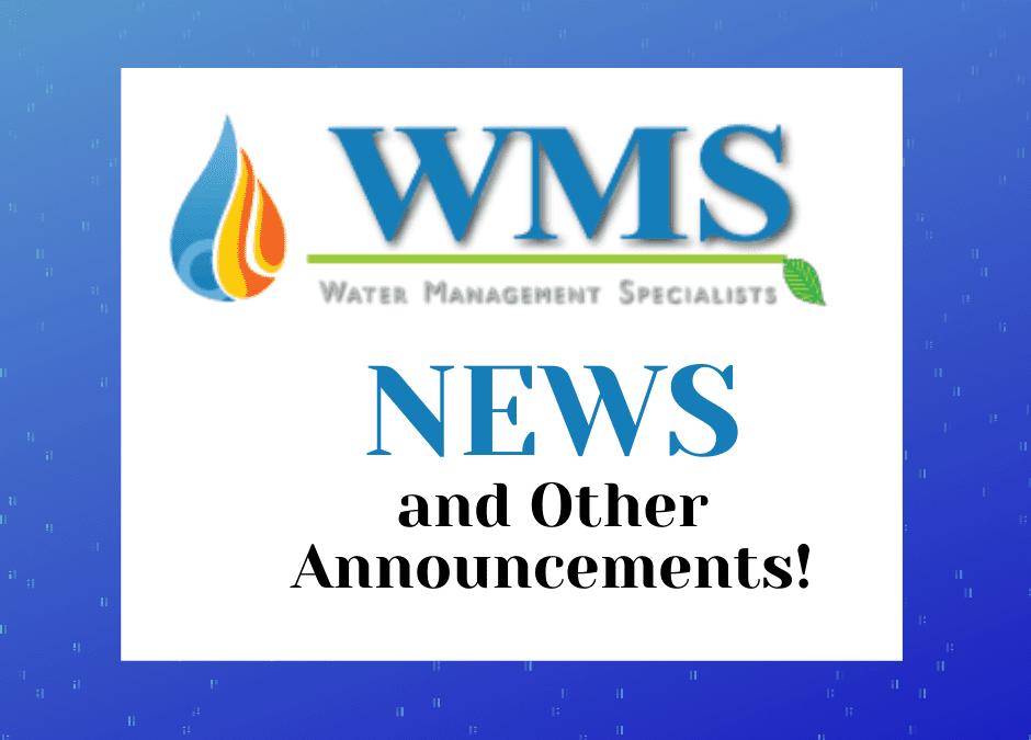 WMS Announcements: 12/2020