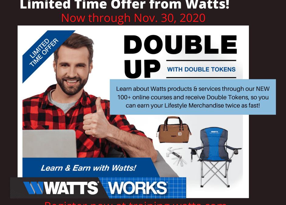Watts Double Tokens Training